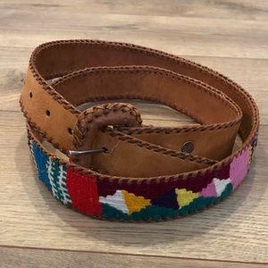 Accessories - Guatemalan bright summery belt